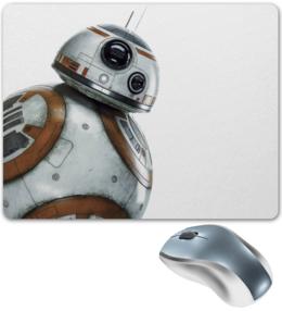 """Коврик для мышки """"Star Wars/Звездные войны Дроид BB8"""" - звездные войны, starwars, дарт вейдер, r2d2, bb8"""