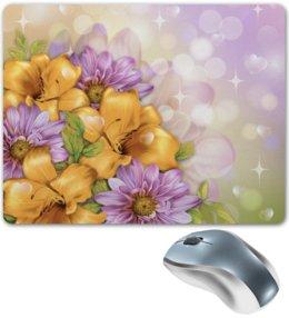 """Коврик для мышки """"Цветы"""" - лето, цветы"""