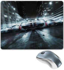 """Коврик для мышки """"GRID 2"""" - дорога, гонки, машины, трасса, grid 2"""