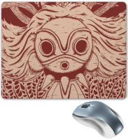"Коврик для мышки ""Принцесса Мононоке "" - арт, аниме, принцеса, мононоке"