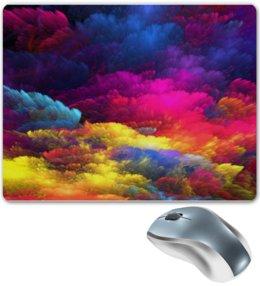 """Коврик для мышки """"Цветное небо"""" - цвета, небо, яркость, цветное неюо"""