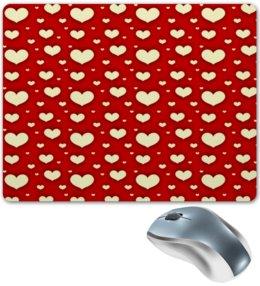 """Коврик для мышки """"Сердце"""" - любовь, сердца, день святого валентина, сердечки, я люблю"""