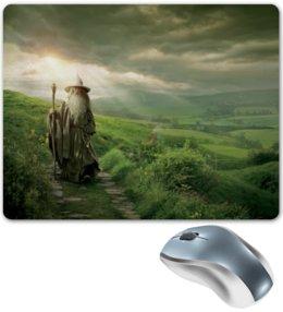 """Коврик для мышки """"Гэндальф"""" - кино, властелин колец, хоббит, hobbit, фродо"""