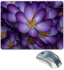 """Коврик для мышки """"Фиолетовое Настроение"""" - цветы, ярко, красота, подарок, нежность"""