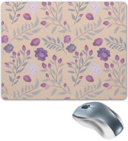 """Коврик для мышки """"цветы"""" - лето, цветы, узор, природа, цветочки"""