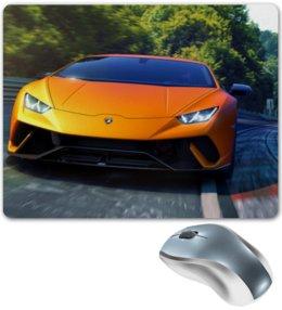 """Коврик для мышки """"Lamborghini Huracan Performante """" - lamborghini, lamborghini huracan performante, ламборгини"""