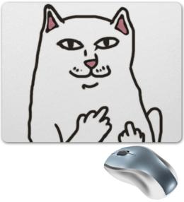 """Коврик для мышки """"cat art"""" - кот, арт, cat, новый"""