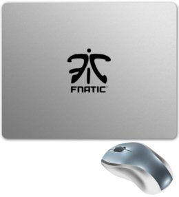 "Коврик для мышки ""Fnatic"" - team, cs go, fnatic, фнатики, dreamhack"