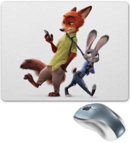 """Коврик для мышки """"Зверополис"""" - арт, мультфильм, анимация, zootopia, зверополис"""