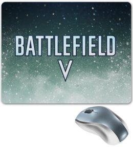 """Коврик для мышки """"Battlefield"""" - игры, компьютерные игры, надписи, battlefield, поле битвы"""