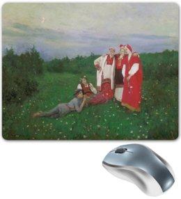 "Коврик для мышки ""Северная идиллия (картина Коровина)"" - картина, русь, славяне, живопись, коровин"