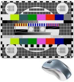 """Коврик для мышки """"профилактика"""" - тв, tv"""