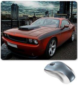 """Коврик для мышки """"DODGE Challenger SRT8"""" - арт, автомобиль"""