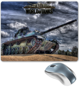 "Коврик для мышки ""World of Tanks Design"" - games, игры, игра, game, world of tanks, танки, tank, wot, tanks, video game"