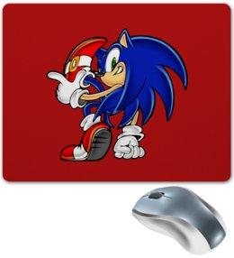 """Коврик для мышки """"Sonic"""" - игры, ежик, мульт, соник, sonic"""