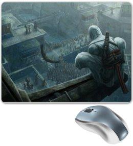 "Коврик для мышки ""Assassin's Creed fan art"" - assassin, assassin's creed, ассасин, кредо ассасина, altair, альтаир, ассасины"