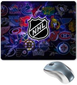"""Коврик для мышки """"NHL   """" - хоккей, nhl, нхл"""