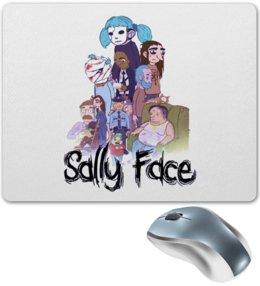 """Коврик для мышки """"Sally Face (Салли фейс)"""" - sally face, салли фейс, салли кромсали"""