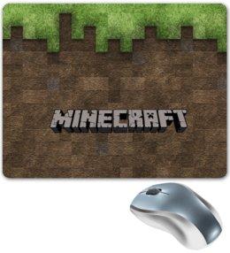"""Коврик для мышки """"minecraft"""" - minecraft, майнкрафт, mine, craft"""