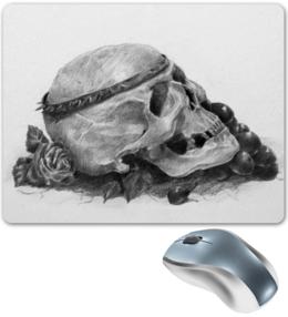 """Коврик для мышки """"Skull"""" - череп, готика, оригинально, коврик для мыши"""