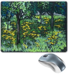 """Коврик для мышки """"Одуванчики."""" - красиво, цветы, весна, оригинально, природа, пейзаж, пастель, коврики для мыши, одуванчики"""