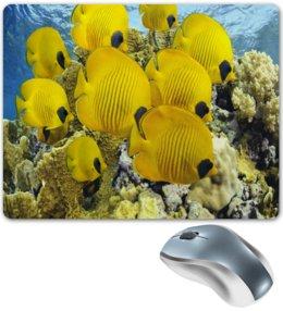 """Коврик для мышки """"Рыбки"""" - море, вода, рыбы, рыбки, аквариум"""
