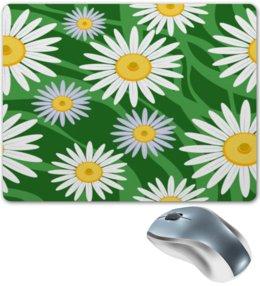 """Коврик для мышки """"Ромашки"""" - цветы, весна, зеленый, природа, ромашки"""