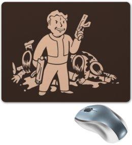 "Коврик для мышки ""Fallout"" - fallout, бункер, фаллаут, убежище"