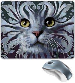 """Коврик для мышки """"КОШКИ. МАГИЯ КРАСОТЫ"""" - животные, стиль эксклюзив креатив красота яркость, арт фэнтези"""