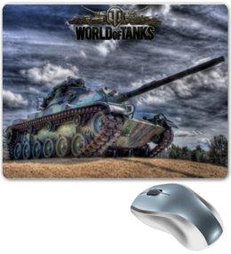 "Коврик для мышки ""World of Tanks Design"" - games, игры, игра, game, world of tanks, танки, tank, wot, tanks, video game"
