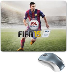 "Коврик для мышки ""Fifa 15"" - футбол, messi, месси, fifa 15"