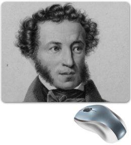"""Коврик для мышки """"Пушкин"""" - пушкин, писатели, литература, aleksandr pushkin, russian literature"""