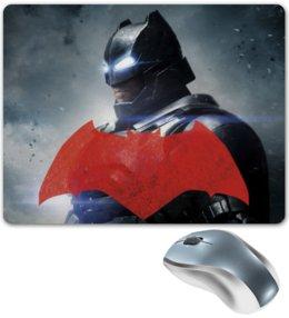 """Коврик для мышки """"New Batman"""" - комиксы, batman, superman, бэтмен против супермена"""