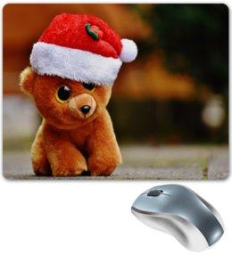 """Коврик для мышки """"Мишка"""" - игрушки, плюшевый мишка, медведь, новый год, мишка"""