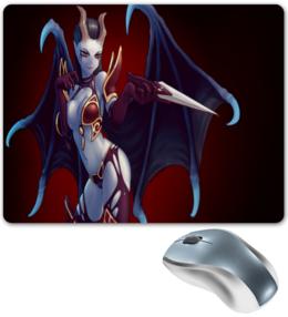 """Коврик для мышки """"DOTA 2:Queen of pain"""" - игры, dota, dota 2, дота"""