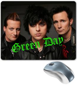 """Коврик для мышки """"Коврик для мышки с Green Day"""" - популярные"""