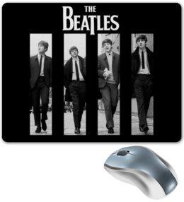 """Коврик для мышки """"The beatles """" - рок, битлз"""