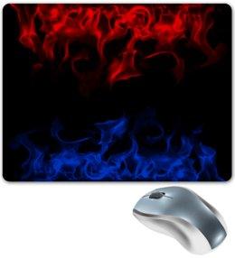 """Коврик для мышки """"Огонь"""" - огненный, пожар, краски, пламя, огонь"""