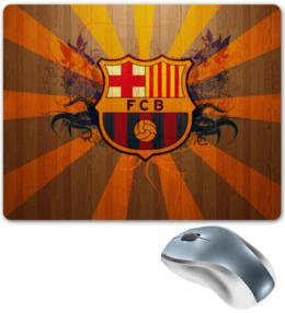 "Коврик для мышки ""Barcelona"" - футбол, спорт, barcelona, барселона, fcb"