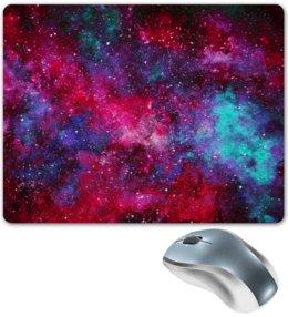 """Коврик для мышки """"Космос"""" - space, звезды, космос, cosmos, космический дизайн"""