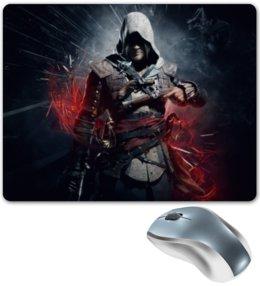 "Коврик для мышки ""Assassin`s creed 4 "" - black flag, assassin, ассасин, кредо ассасина, ас4, action-adventure, video games"