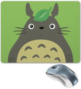 "Коврик для мышки ""Тоторо"" - арт, аниме, мульт, тоторо"