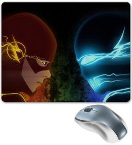 "Коврик для мышки ""Flash vs Zoom"" - star, flash, флэш, zoom, зум"