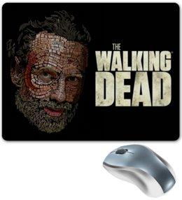 "Коврик для мышки ""The Walking Dead"" - зомби, сериал, ходячие мертвецы, walking dead, the walking dead"