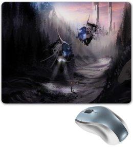 """Коврик для мышки """"Лесной пейзаж"""" - игры, компьютерные игры, лес, пейзаж, корабль"""