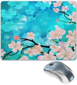 """Коврик для мышки """"Цветущее дерево"""" - цветы, весна, деревья, природа, цветочки"""