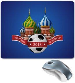"""Коврик для мышки """"Футбол"""" - футбол, спорт, мяч, 2018"""