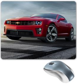 "Коврик для мышки ""Chevrolet"" - car, автомобили, chevrolet, chevy, american muscle"