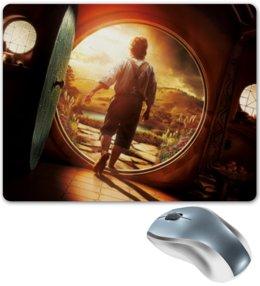 "Коврик для мышки ""Хоббит"" - кино, властелин колец, hobbit, фродо, бильбо"