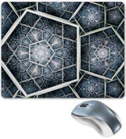 "Коврик для мышки ""Abstract pentagon"" - пятиугольник, pentagon, пенттагон"